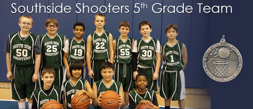 Southside Shooters 5th Grade Team